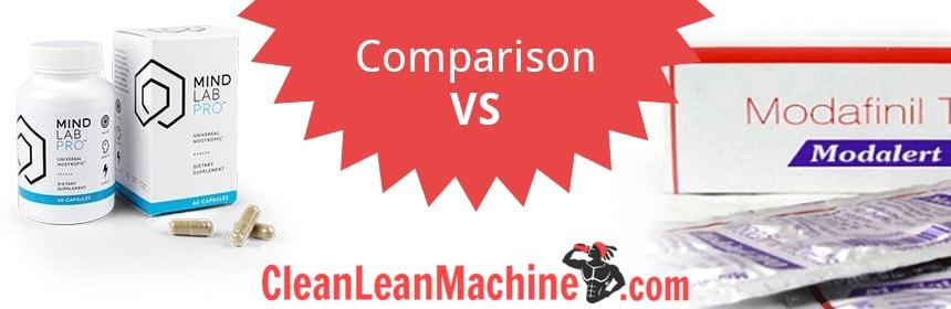 Mind Lab Pro vs Modafinil brain pills compared