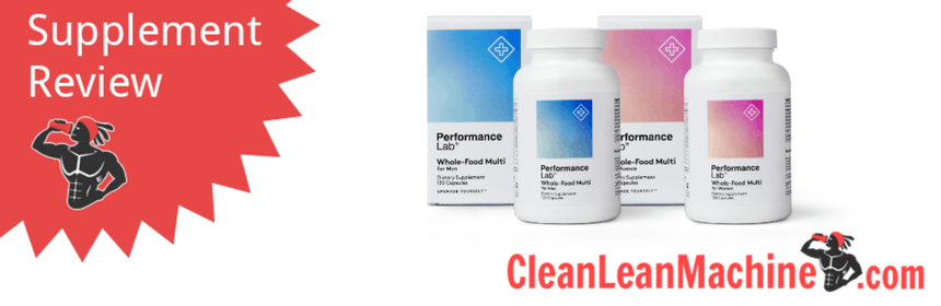 Performance Lab Whole-Food Multi For Men Review