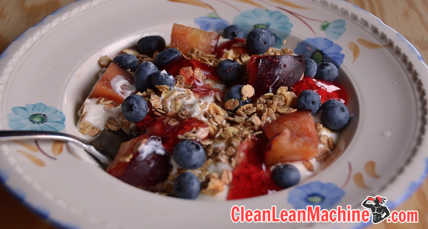 Complete vegan fitness diet guide for health and performance - Blueberries and cereal grain carbs